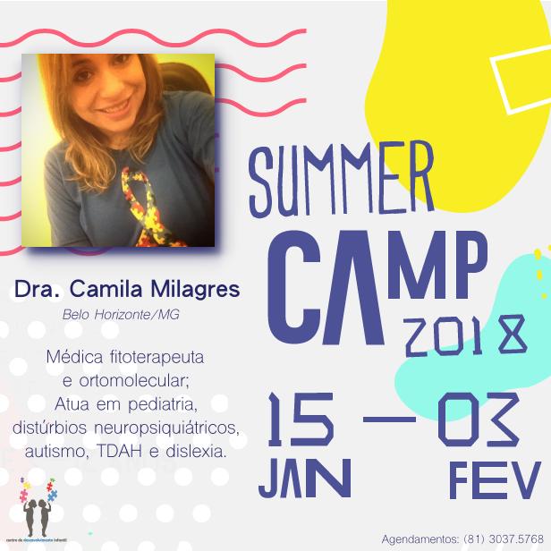 Apresentação dos Palestrantes SUMMER CAMP 2018