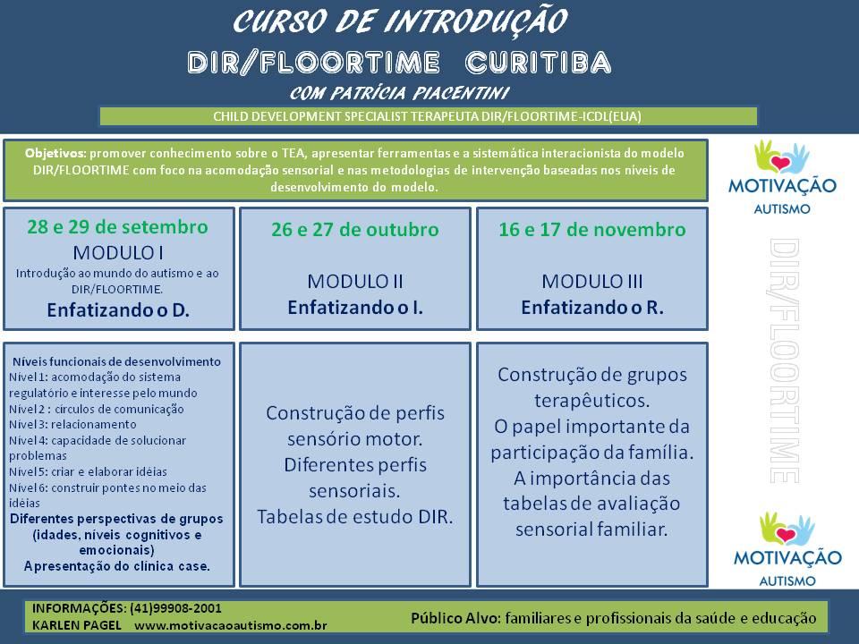 CURSO EM CURITIBA – PR