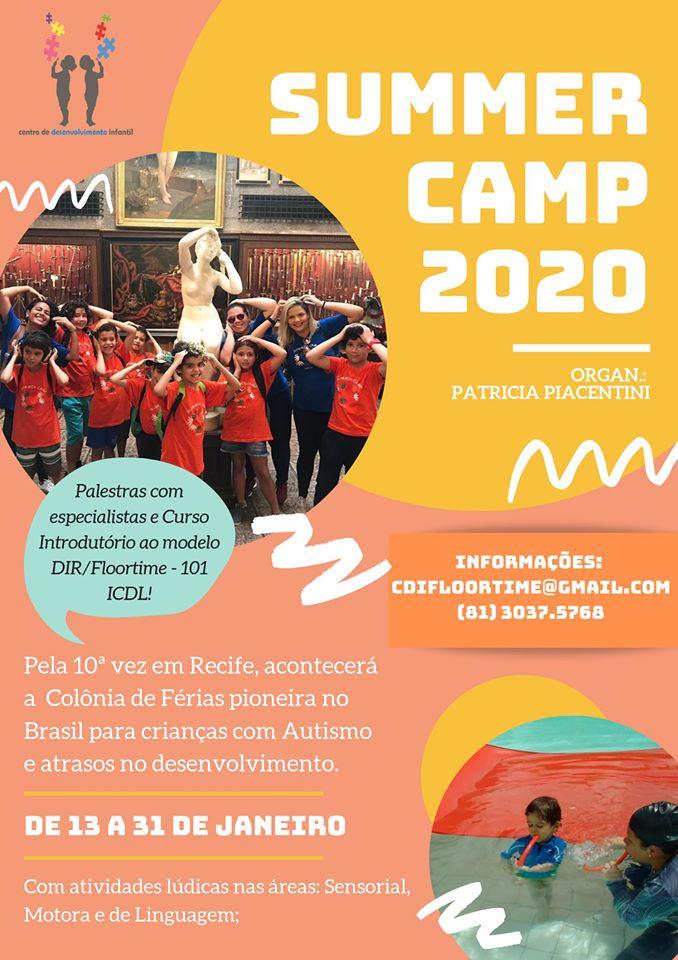 SUMMER CAMP 2020 em Recife de 13 a 31 de Janeiro de 2020