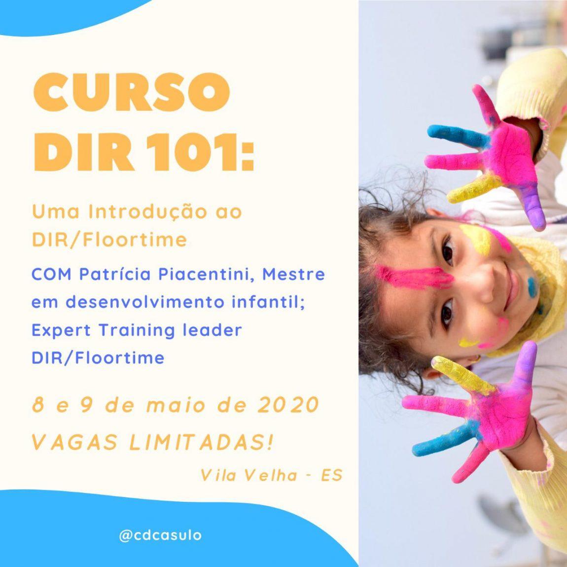 Curso DIR 101 em Vila Velha (ES) dias 08 e 09 de Maio de 2020