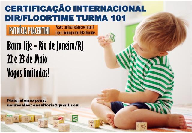 Curso DIR 101 no Rio de Janeiro (RJ) dias 22 e 23 de Maio de 2020