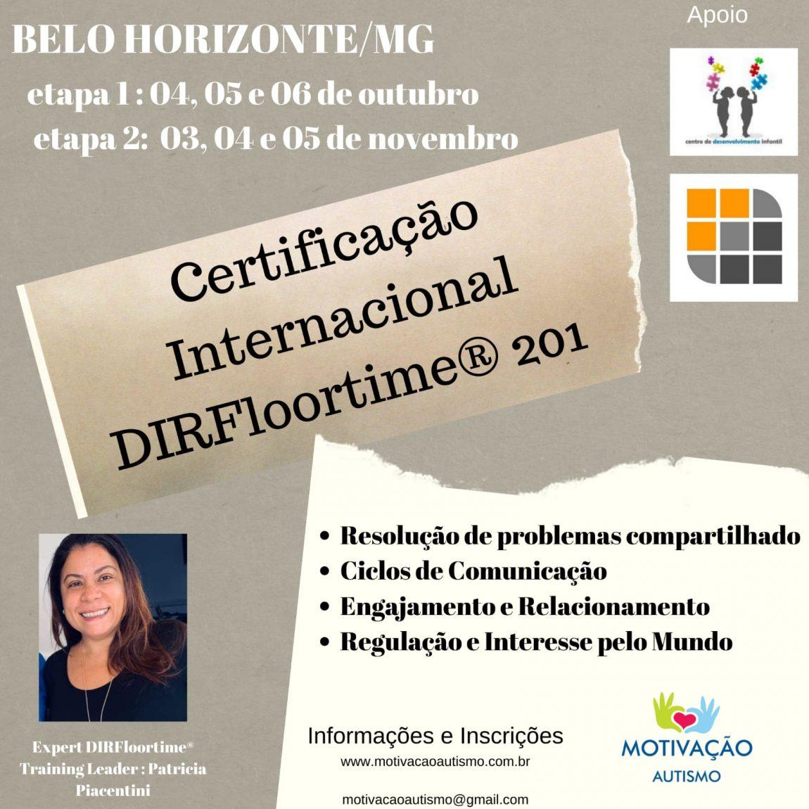 CURSO DIR 201 EM BELO HORIZONTE (OUTUBRO)